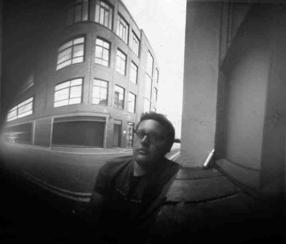 Beer can pinhole photograph by Chris Hurrell