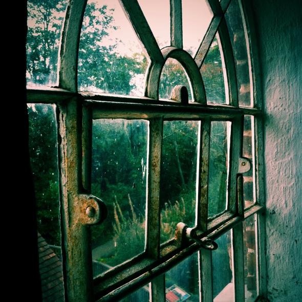 Window. Sarehole Mill. Copyright David Rann 2013.