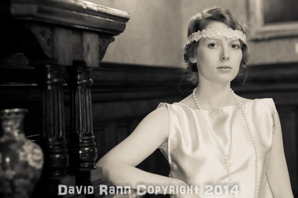 "Emilie Walt at the Fotofilia ""Downton"" shoot."