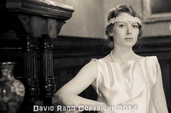 "Emilie Walt at the Fotofilia ""Downton"" shoot."