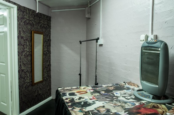 Studio 1 dressing room