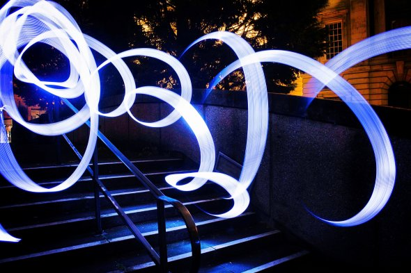 Light Painting by Andrew Crawford