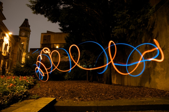 Light painting by Esther Parker-Duber